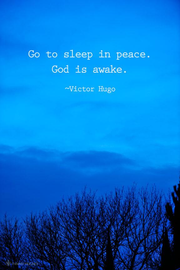 Victor Hugo - Sleep in Peace