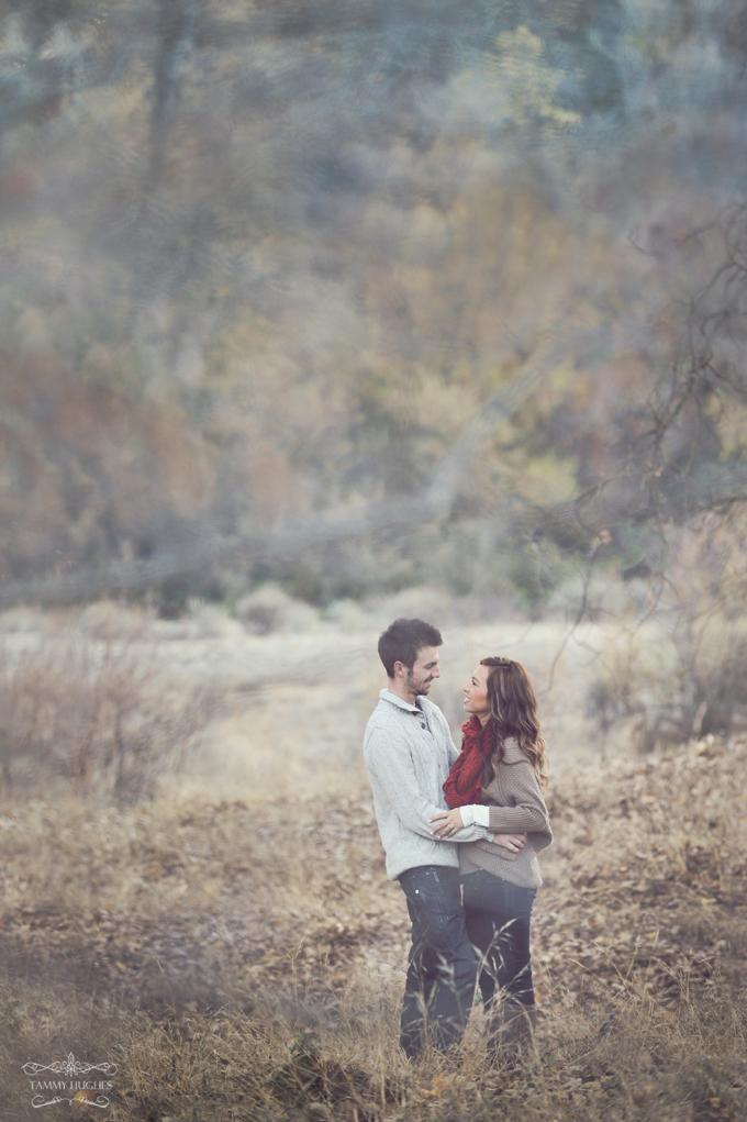 Winter Engagement Portrait